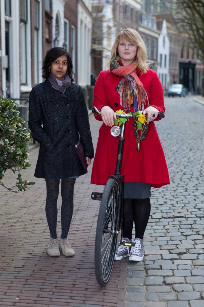 Mensen in Leiden