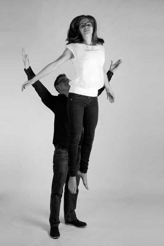 Tessa en David